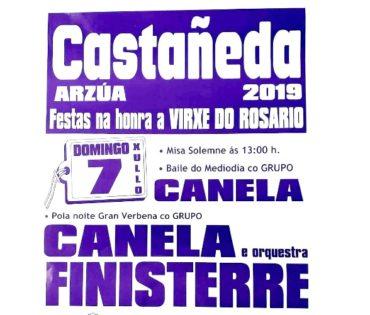 Fiestas en Castañeda 2019
